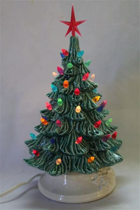 vintage ceramic lighted tree vintage lighted ceramic table top 28 images retro