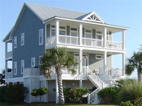 beach house blueprints beach house plans on pilings beach cottage house plans on
