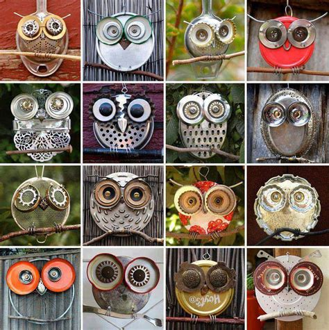Owl Item | quietyell 187 a designed world owls made from recycled items
