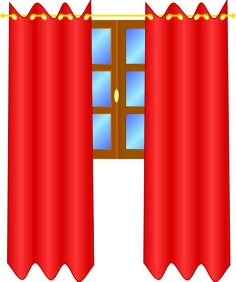 transparent curtains online window with draperies clip art at clker com vector clip