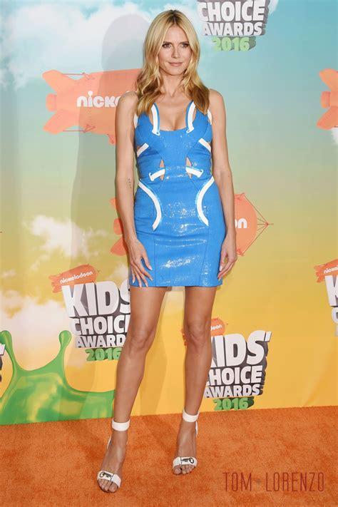 Dress Heidy heidi klum in atelier versace at the 2016 kids choice