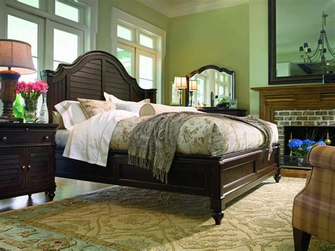 paula deen steel magnolia bedroom set paula deen home steel magnolia platform bedroom set in