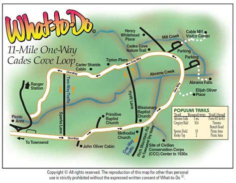 vrbo map cades cove 11 mile loop map www vrbo 558850 or http