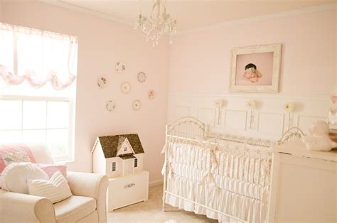Pink And White Nursery | readers favorite vintage pink and white nursery