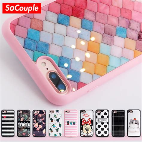 Casing Silicon Soft Iphone 5 5s Se Flower Bling Cover 1 aliexpress buy soft tpu for iphone 6 6s 5 5s se