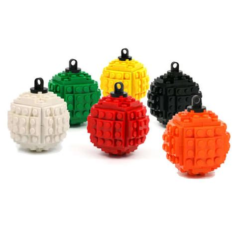 toy block holiday decorations lego ornaments
