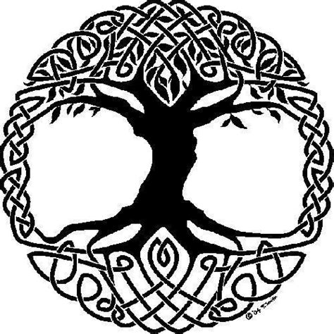 what color represents strength celtic tree of represents strength and