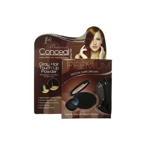 Touch Up Powder conceal touch up powder mocha brown