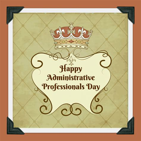 administrative professionals day cards happy