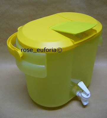 Tupperware Seal Canister 8 7l Tutup rose euforia my tupperware collection tupperware outdoor cooler 1 8 7l