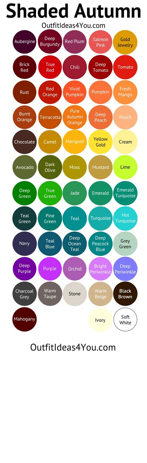 deep autumn color palette best 25 deep autumn ideas on pinterest deep autumn