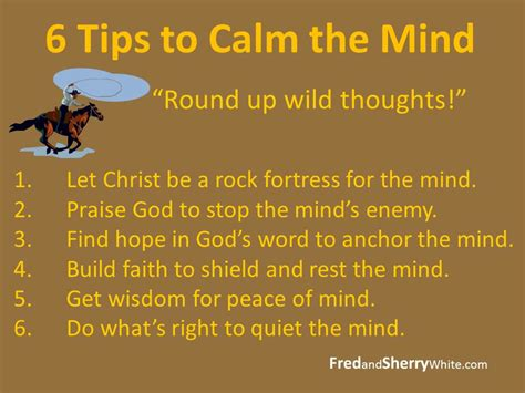 gate articles 6 tips to calm the mind