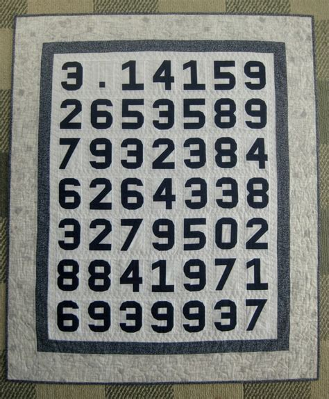 quilt pattern numbers pi quilt pattern and paper pieced numbers pattern math