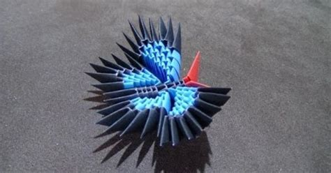 3d Origami Butterfly - how to make a 3d origami butterfly origami