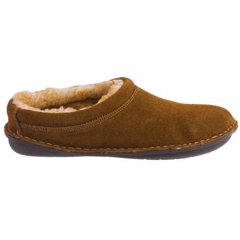 suede clogs for tempur pedic isobar suede clog slippers for save 87