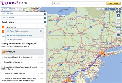 map guest mapquest directions for website