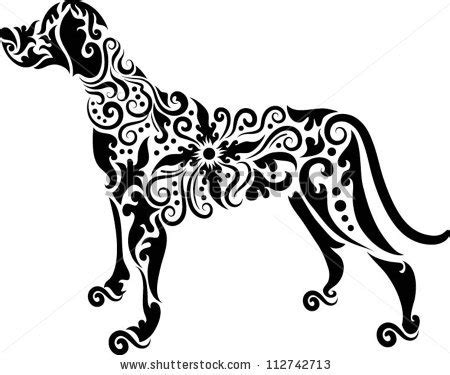 dog tattoo stock images royalty free images amp vectors