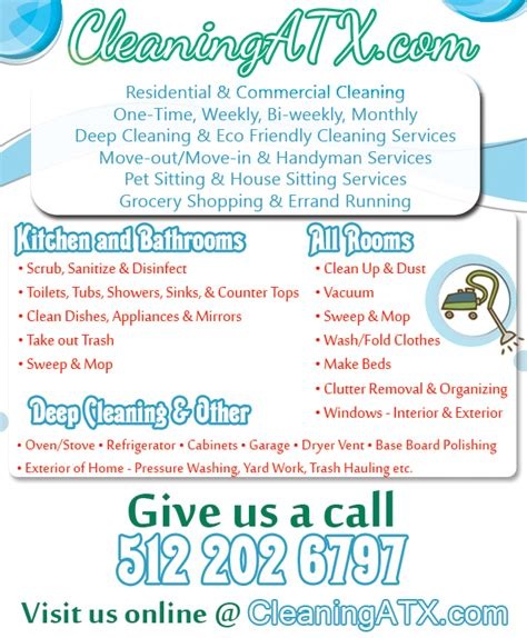 cleaning advert template a house cleaning flyer by mytechnique on deviantart