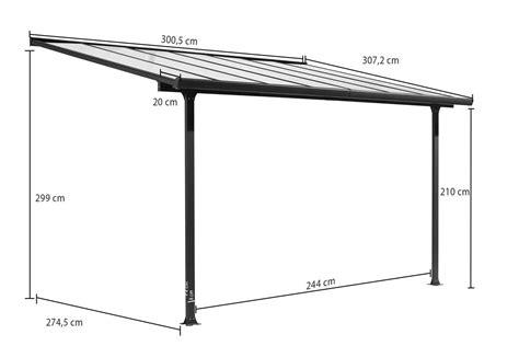 tettoia alluminio tettoia alluminio per terrazzo tt 3030 al decogiardino
