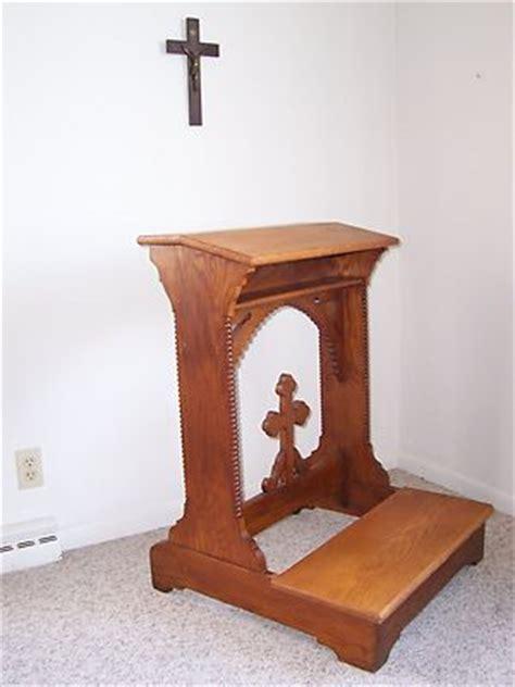 kneeling bench in church antique oak church prayer kneeler antique price guide