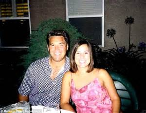 Peterson left was convicted in 2005 of murdering his wife laci