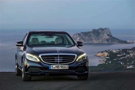 2015 mercedes c class enters production