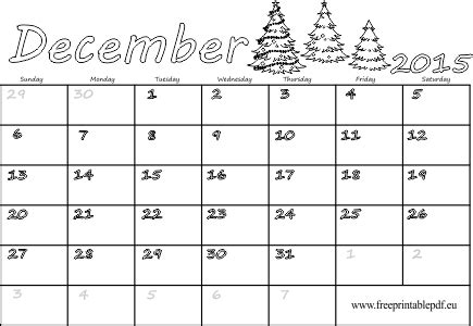 blank december 2015 calendar download december 2015 blank calendar free printable pdf