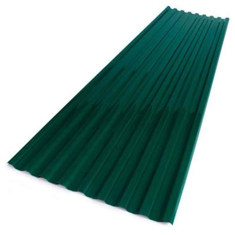 suntuf 26 in x 8 ft polycarbonate corrugated roofing