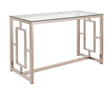 coaster sofa table coaster 703739 sofa table nickel 703739 at homelement com