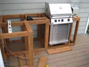 how build outdoor kitchen cabinets building and design