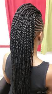 crochet hair mohawk pattern cornrow mohawk w crochet senegalese twists video