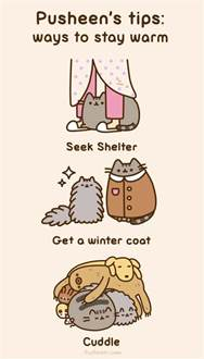 Harry Potter Throw Blanket Pusheen The Cat Images Pusheen S Tips How To Stay Warm Hd