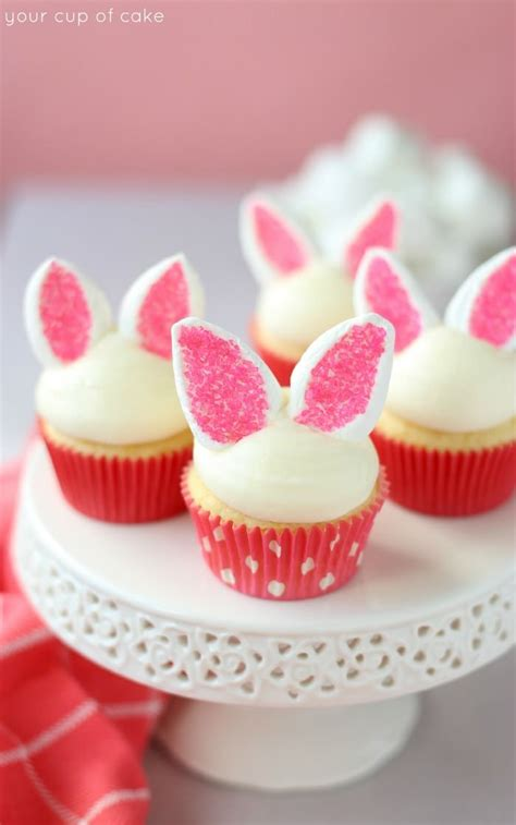 easy easter desserts best 25 bunny cupcakes ideas on pinterest marshmallow