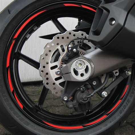 Felgenaufkleber Beta by 500316 Felgenrandaufkleber Motorrad Roller Auto 7mm Neon