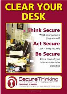 Clean Desk Images Secure Thinking Ltd It Consultant In Nelson Uk