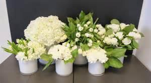 white flower arrangements floral arrangements your wedding fan