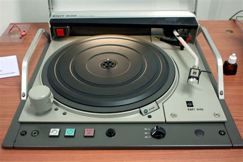 7 Amazing Turntables by Emt 948 One Of The Many Amazing Broadcast Turntables That