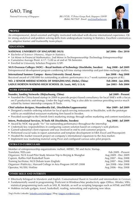 image result for download two page sample resume format job resume