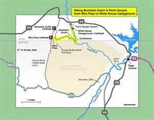 the wave arizona map buckskin gulch 2013 on coyotes hiking boots