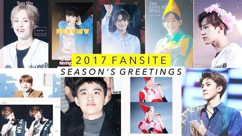 exo season greeting 2018 exo fansite 2017 season s greetings recommendations
