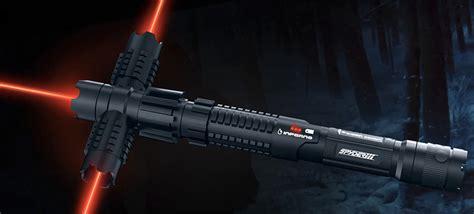 best lightsaber a real laser tri blade lightsaber is the best worst