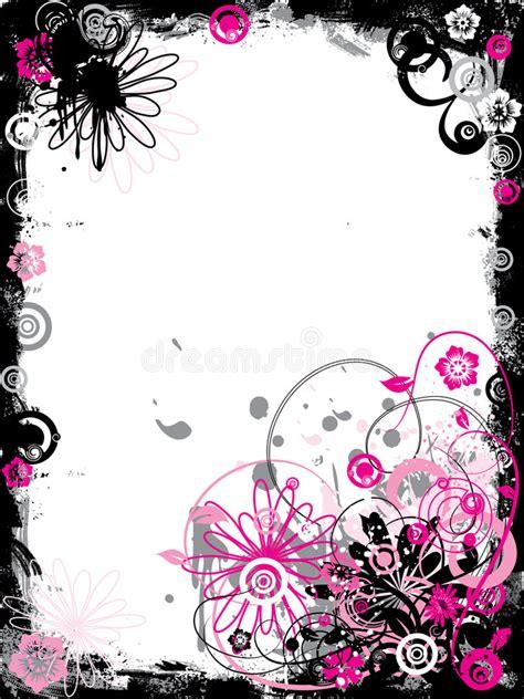 floral grunge frame elements royalty free vector image grunge floral border vector stock vector image 2187926