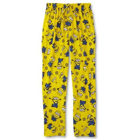 Pajamas Minion Pp despicable me s pajama kmart