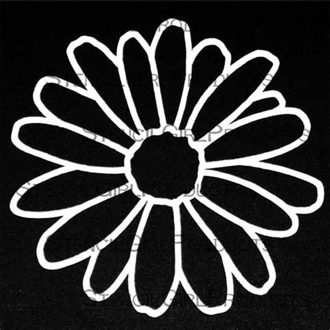 Stores With Home Decor Doodle It Daisy Stencil Maria Mcguire Stencilgirl Products