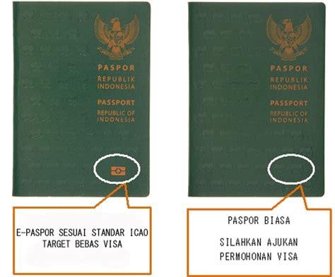cara buat e paspor indonesia cara mudah mengurus bebas visa ke jepang moeslema