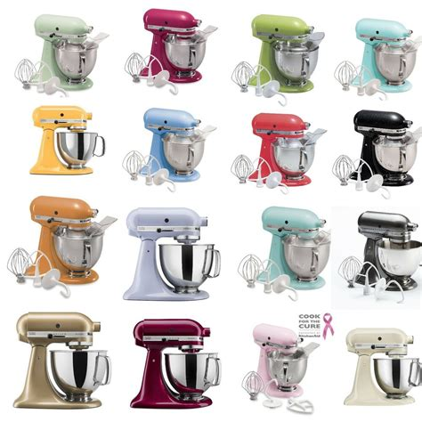 kitchenaid stand mixer colors kitchenaid ksm150ps 5 quart artisan stand mixer many