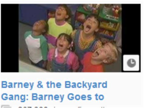 barney and the backyard gang goes to school barney and the backyard gang barney goes to school 28