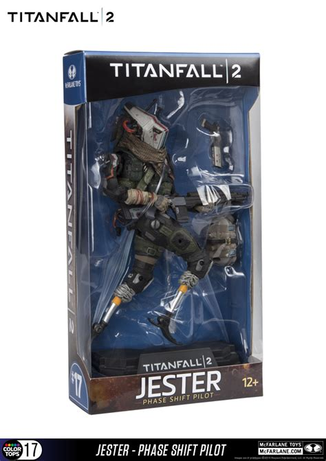 figure news titanfall 2 jester figure new photos from mcfarlane toys