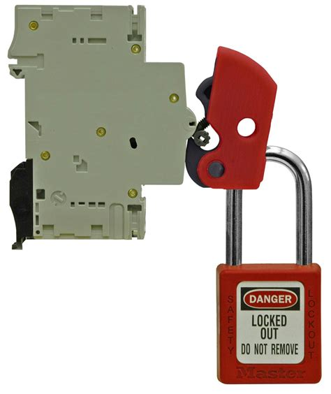 bloque disjoncteur universel s2394 master lock europe - Débloquer Cadenas Master Lock