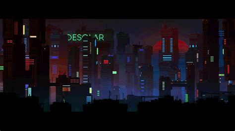 vintage wallpaper gif retro pixel art city wallpaper collection 13 wallpapers